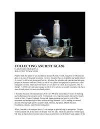 [caption:Collecting Ancient Glass] Click to preview Collecting Ancient Glass